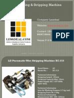 Wire Cutting Strippnig Machine