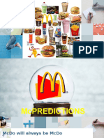 Mcdo - Marketing Principles