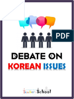 Debate on Korean Issues