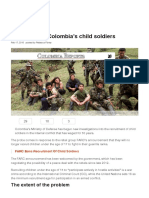 The Reality of Colombia's Child Soldiers