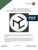 Building Antahkarana the Triangulation Method
