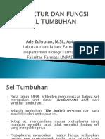 2_2016_Struktur Dan Fungsi Sel Tumbuhan