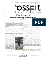 The Basics of Pose Running Techniques
