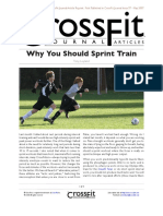 Why You Should Train Speed