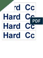 Hard  Cc