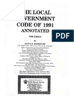 Local Government Code of 1991 Annotated - Rufus Rodriguez
