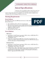 Tech Specs Flyer