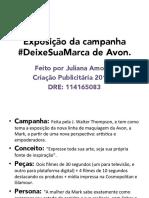 Campanha Mark #DeixeSuaMarca