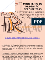 Docslide.com.Br Ministerio de Pregacao Sergipe 2015 o Que e o Ministerio de Pregacao