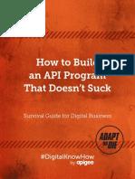 API Survival Guide eBook