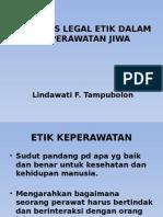 Legal Etik Dalam Keperawatan Jiwa