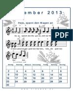 September Liederkalender 2013
