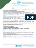 Guía de Presentación Carpeta de Antecedentes