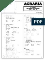 Sem 9 - Sistema de Ecuaciones