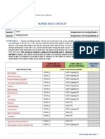 priddy nursing skills checklist