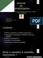 solubilization