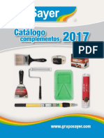 SAYER Catalogo Complementos 2017