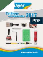 SAYER Catalogo Complementos 2017