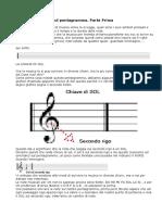 Corso Per Leggere La Musica Sul Pentagramma