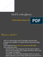 AJAX With JQuery