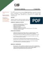 Nota Tecnica R28A Playa Caracol