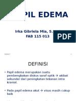 IRKA - Papil Edema
