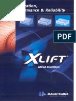 1-X Lift Liner Catalogue