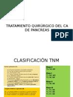 Tratamiento Quirúrgico Del CA de Pancreas