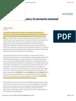 Pierre Nora-La historia y la memoria nacional | Edición impresa | EL PAÍS