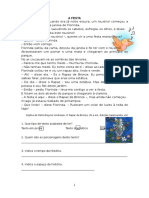A FESTA - Ficha Port. 3.º Ano
