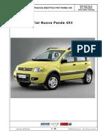 Traccia Didattica Fiat Panda 4x4
