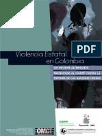 Violencia Estatal en Colombia