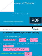 Thermodynamics of Mixtures 5 2005