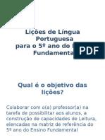 Apresentação Língua Portuguesa 5º ano.ppt