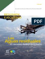 Resumen Ejecutivo de Aguas Residuales