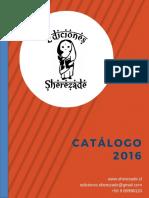 Catálogo 2016 - Ediciones Sherezade