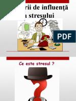 Factori de Influenta a Stresului