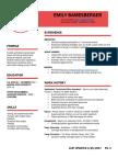 resume edt321