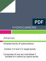 CHY2023 Unit 4 - Hydrocarbons Sem 1