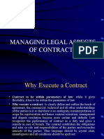 Session 3 Managing Legal Aspects of Contracts