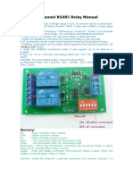 2 Channel RS485 Relay Manual