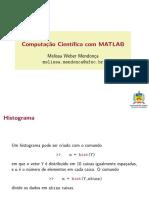Medidas de Posicao e Dispersao Matlab