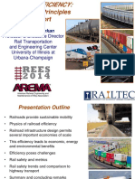 REES-1-A(2) Intro to Railway Engineering, Efficiency & Safety - 2014