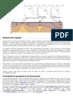 Evolução Dos Magmas_fusão Parcial