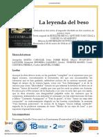 La Leyenda Del Beso
