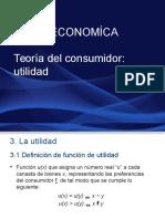 Microeconomía. Utilidad