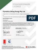 SAI Global StandardsMark License SMK1377
