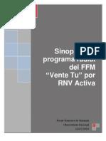 Sinopsis Del Programa Radial Del FFM Vente Tu Por RNV Activa 13 07 10