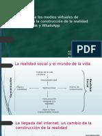 La Influencia de Los Medios Virtuales de Información Adolfo Acmed