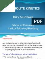 Metabolite Kinetics